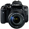 Canon 750D – новая зеркалка для фото-энтузиастов со встроенными Wi-Fi и NFC