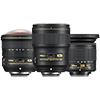 Три новых широкоугольных объектива от Nikon: рыбий глаз 8-15, фикс 28 и зум 10-20 мм