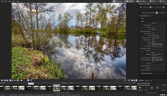 Обработки acdsee фото программа